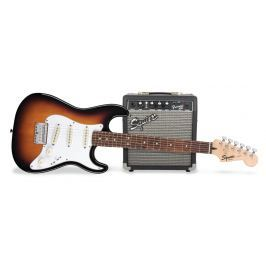 Fender Squier Strat Pack SSS Brown Sunburst