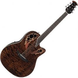 Ovation CE48P-TGE Elite Plus Celebrity Super Shallow - Tiger Eye