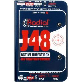Radial J48 Phantom Powered Active Direct Box