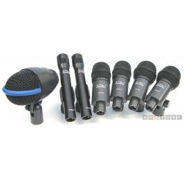 Soundking E07 Drum Microphone Kit-Black