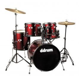 DDRUM D120B Series 5 Pc. Complete Set Blood Red