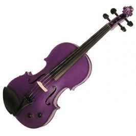 Stentor E-Violin 4/4 Student II, Artec Piezo Pickup Deep Purple