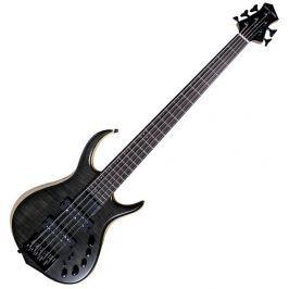 Sire Marcus Miller M7 Swamp Ash-Maple Top-5 Transparent Black