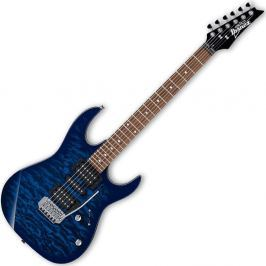 Ibanez GRX70QA Transparent Blue Burst