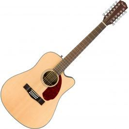 Fender CD-140SCE-12 with Case Natural
