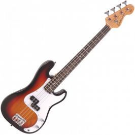 Encore E20SB 7/8 Bass Guitar 3 Tone Sunburst