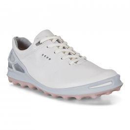 Ecco Golf Cage Pro White/Silver Pink 36 Womens