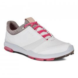 Ecco Golf Biom Hybrid 3 White/Teaberry 38 Womens