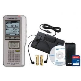 Olympus Dictation and Transcription Kit Silver Pro