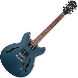 Ibanez AS53 Transparent Blue Flat