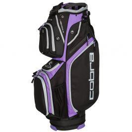 Cobra Ultralight Cart Bag Black-Dahlia Purple
