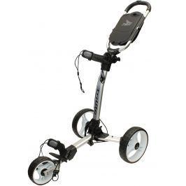 Axglo TriLite 3 wheel trolley silver/white