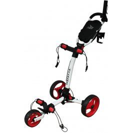 Axglo TriLite 3 wheel trolley white/red