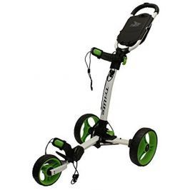 Axglo TriLite 3 wheel trolley white/green