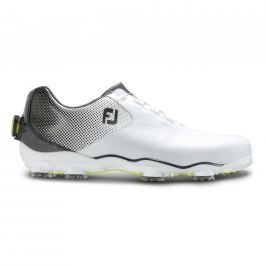 Footjoy Dna Helix White/Black Boa Mens US9.0