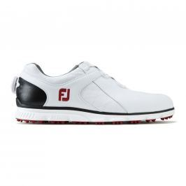 Footjoy Pro Sl White/Black/Red Boa Mens US9.0