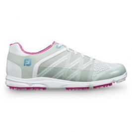 Footjoy Sport Sl Lt Grey/Berry Womens US9.5
