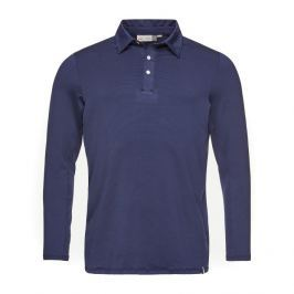 Kjus Men Soren Polo Solid L/S Atlanta Blue 50