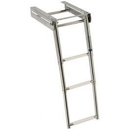 Osculati Underplatform Ladder 3 st. - Inox