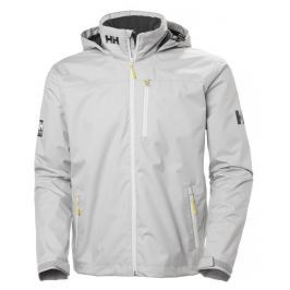 Helly Hansen CREW HOODED MIDLAYER JACKET - SILVER GRAY - M