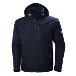 Helly Hansen CREW HOODED MIDLAYER JACKET - NAVY - XXL
