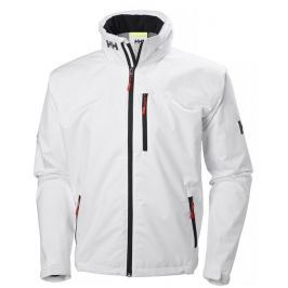 Helly Hansen CREW HOODED JACKET - WHITE - M