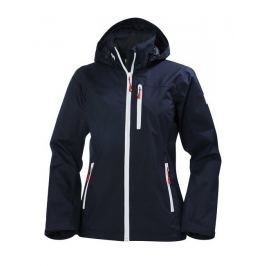 Helly Hansen W CREW HOODED JACKET - NAVY - S