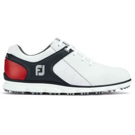 Footjoy Pro Sl White/Black/Red Boa Mens US8.5
