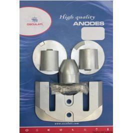 Osculati Anode Kit Mercruiser Bravo III-04 - Magnesium