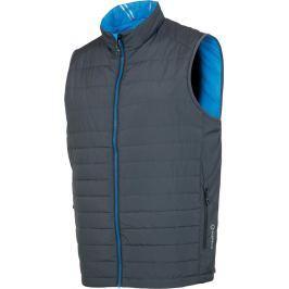 Sunice Men Michael Reversible Vest Charcoal/Vibrant Blue L