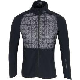 J.Lindeberg Mens Hybrid Jacket Lux Softshell Black Buildning Bridges M