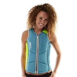 Jobe Reversible Impact Vest Lime/Teal Women - XS