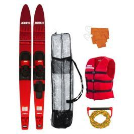 Jobe Allegre Combo Waterskis Package Red - 59''