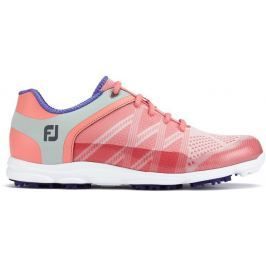 Footjoy Sport Sl Pink/Blue Womens US8.5