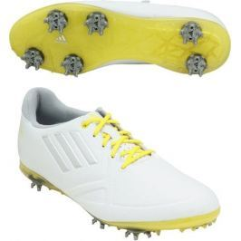 Adidas W Adizero Tour White/Yellow Womens UK5