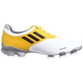 Adidas Adizero Tour White/Yellow Mens UK8