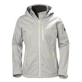 Helly Hansen W CREW HOODED JACKET SILVER - XS