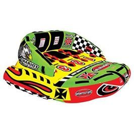 Sportsstuff Towable Chariot Warbird 3 Persons Yellow/Green/Red