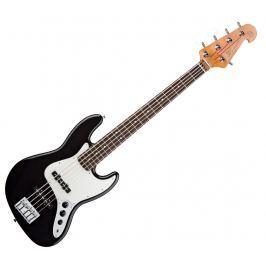SX Vintage Jazz Bass 62 5 Black (B-Stock) #909383