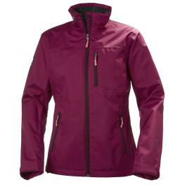 Helly Hansen W CREW JACKET PLUM L