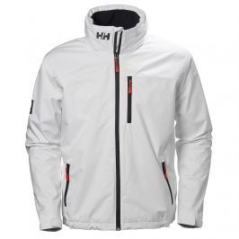 Helly Hansen CREW HOODED MIDLAYER JACKET WHITE - M