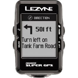 Lezyne Super GPS Black (B-Stock) #909715