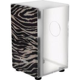 Tycoon Acrylic Body Cajon Premium Fiberglass Zebra Frontplate (B-Stock) #909822