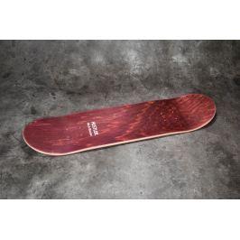 40s & Shorties x HUSTLER America Skate Deck Burgundy