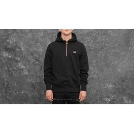 Aimé Leon Dore Quarter Zip Hooded Sweatshirt Black