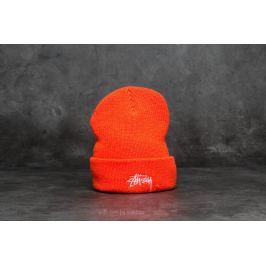 Stüssy Stock Ho17 Cuff Beanie Orange