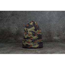 New Era Camo Cuff Beanie Camo Green