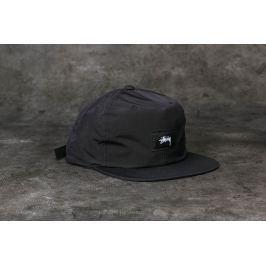 Stüssy Stock Label Strapback Cap Black
