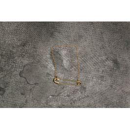 Cheap Monday Safety Pin Bracelet Gold