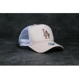 New Era 9Forty Clean Trucker Los Angeles Dodgers Satine/ Gold/ White